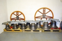 Bells and wheels before installation