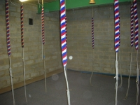 Ringing Chamber, new ropes